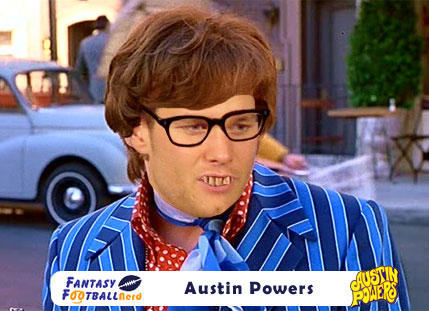 Tom Brady as Austin Powers