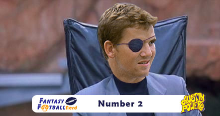 Eli Manning as Number 2
