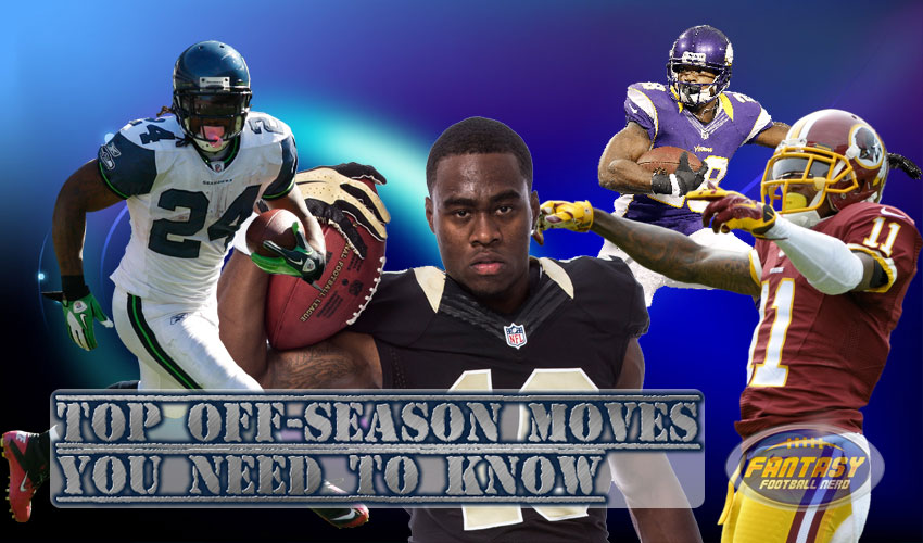 Top Fantasy Football Off-season Moves