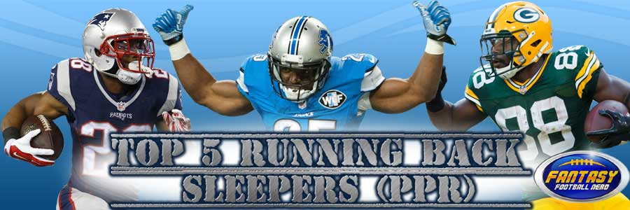 Top 5 Running Back Sleepers (PPR)