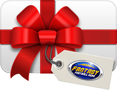 Fantasy Football Gift Certificate